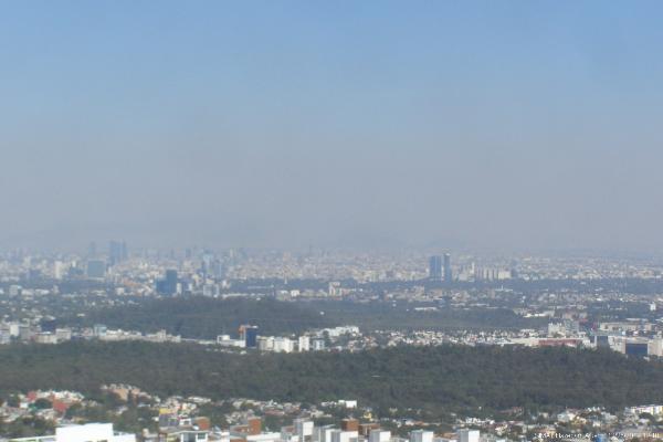 Calidad del aire en la CDMX
