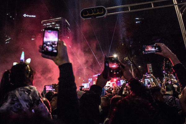 Imagen ilustrativa Festejo de Fin de Año CDMX FOTO: MISAEL VALTIERRA / CUARTOSCURO.COM