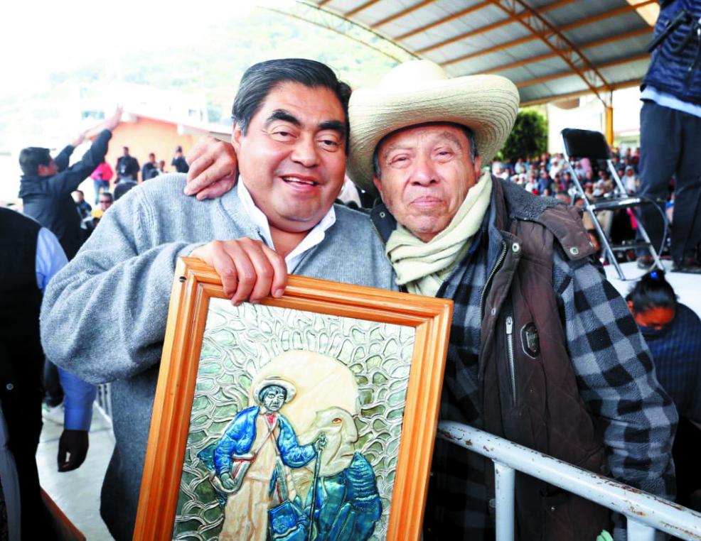 EVENTO. Dijo en Pahuatlán que su prioridad es proteger a los pueblos indígenas poblanos. Foto: Especial