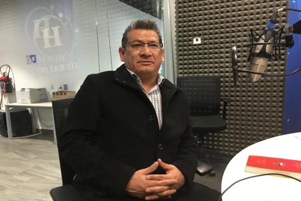 Sergio Carlos Morales Quintana, coordinador del Frente Nacional Petrolero. FOTO: ESPECIAL