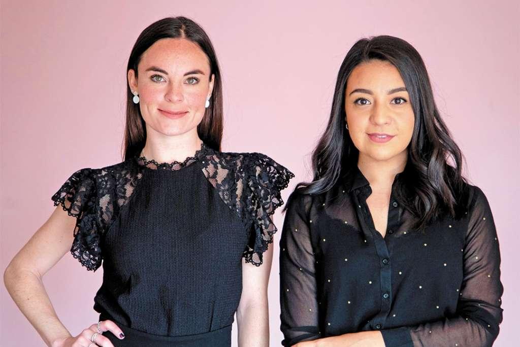 Pamela Madero y Fernanda Ortega