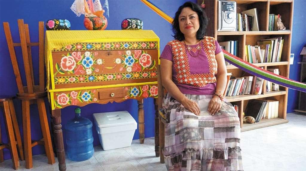 LABOR. La poetisa es una de los 16 miembros del Foro Permanente de la ONU. Foto: José Luis López