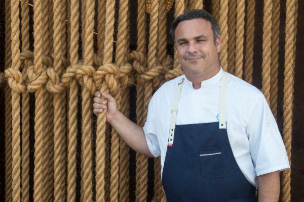 El chef español Ángel León reflexiona sobre la cocina del origen del mundo, gastronomía del mar en la que todo hay por explorar. Foto: Juan Carlos Amaya