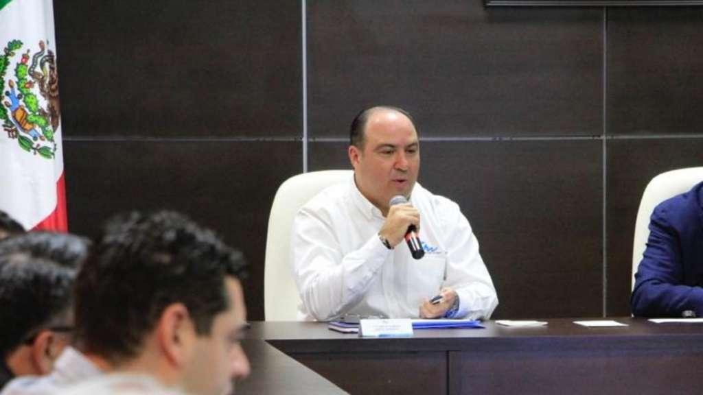 Carlos Alberto García González, secretario de Desarrollo Económico en Tamaulipas. Foto: @carlosgarciagle