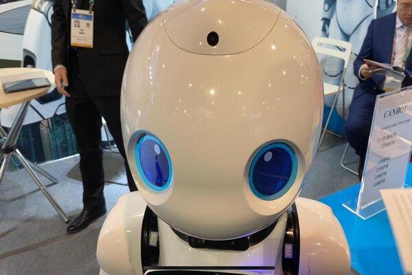 Robot en CES 2020. Foto: El Heraldo de México
