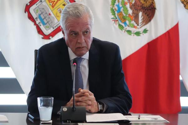 El alcalde de Torreón,Jorge ZermeñoInfante,habla sobre el proceso de detención del abuelo de menor que disparó en escuela de Torreón