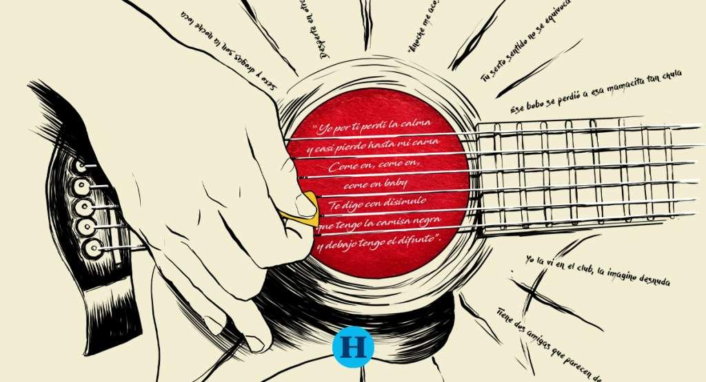 """MÁS DETALLES. Otro éxito de Palencia es """"Mi razón de ser"""" que canta la Banda MS. También le ha compuesto a Belinda. Ilustración: Francisco Lagos"""