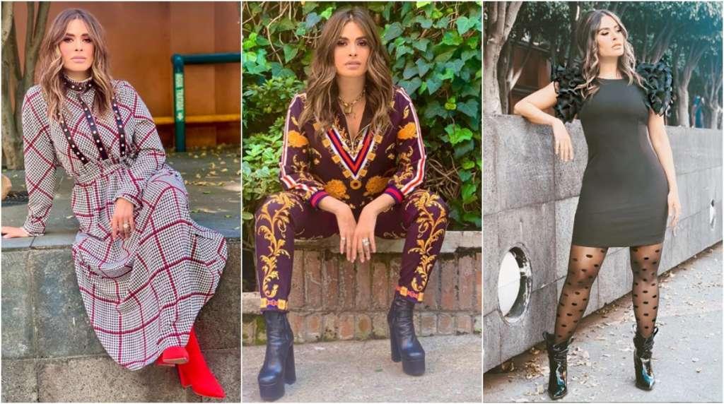 ¿Cómo vestir como Galilea Montijo por menos de 500 pesos? Foto: Especial