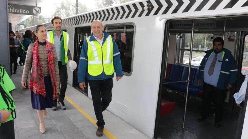 tren-ligero-servicio-trabajos-obras-rehabilitacion-tasqueña-estadio-azteca