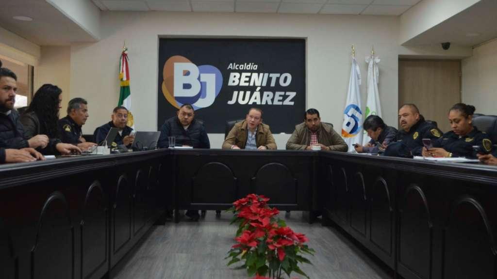 Benito Juárez seguridad