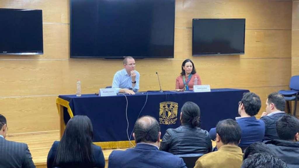 RICARDO ANAYA UNAM CIENCIAS POLITICAS