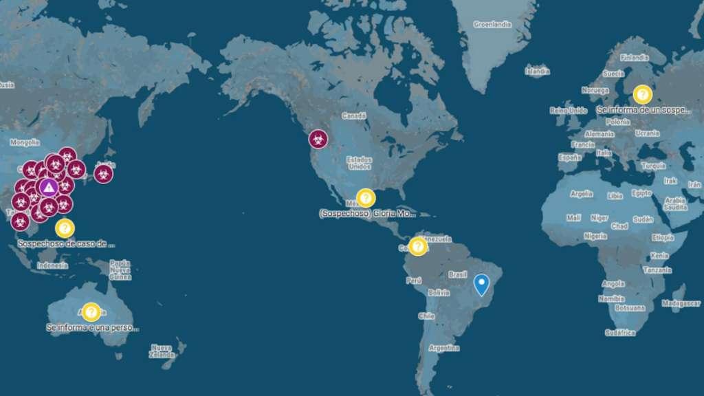 google coronavirus mapa interactivo