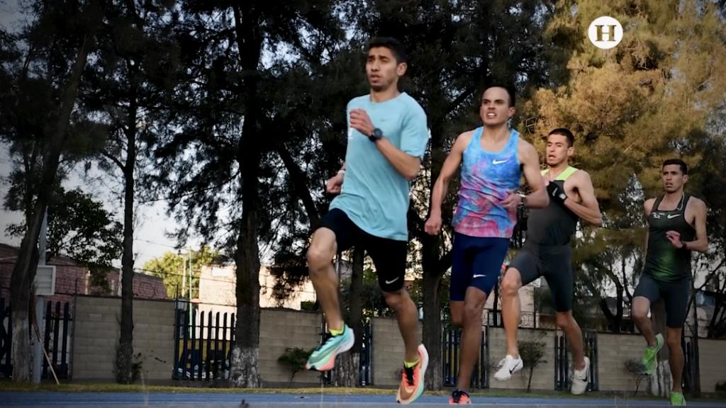 Santana y Pacheco compiten en el Maratón de Dubai