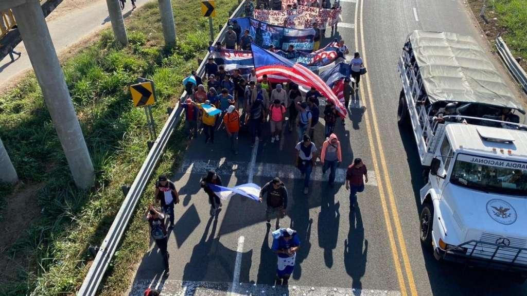 caravana-migrantes-centroamericanos-2020-guardia-nacional-operativo-tapachula-suchiate-chiapas