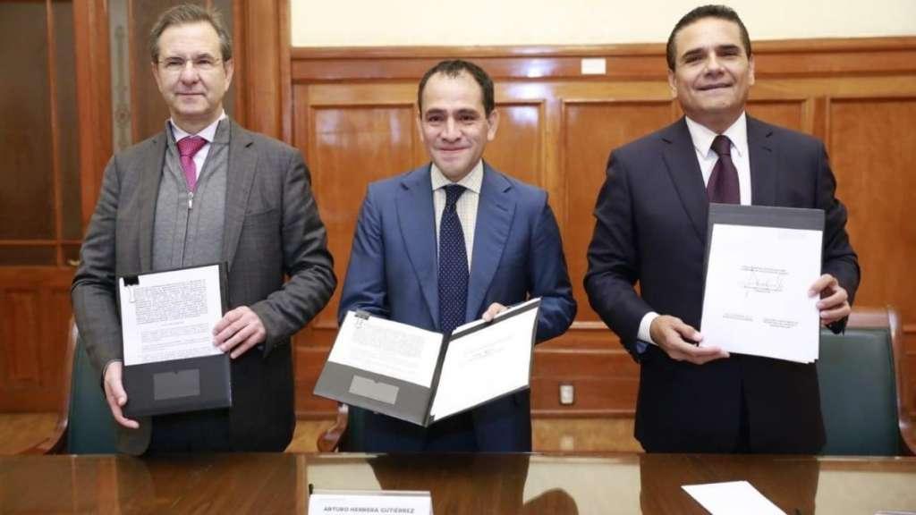 acuerdo firma hacienda maestros pagos michoacan