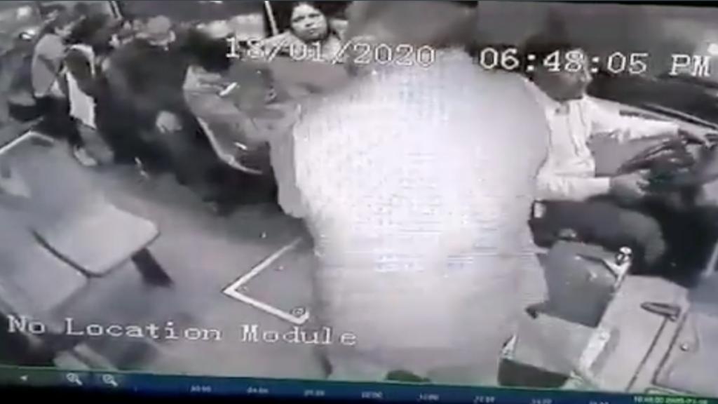 Violento asalto en camión Tlalpan
