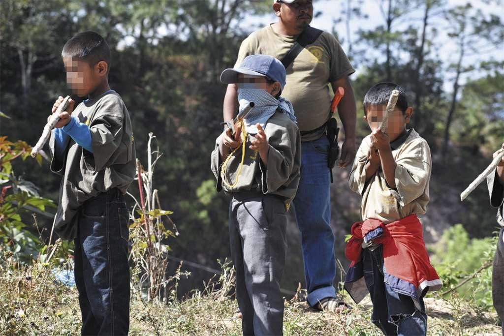 Se busca enfrentar la violencia de bandas delictivas contra pueblos indígenas. Foto: CUARTOSCURO