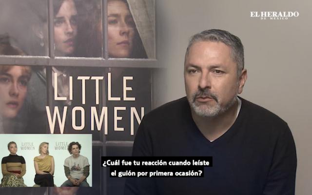Entrevista con los protagonistas de Mujercitas