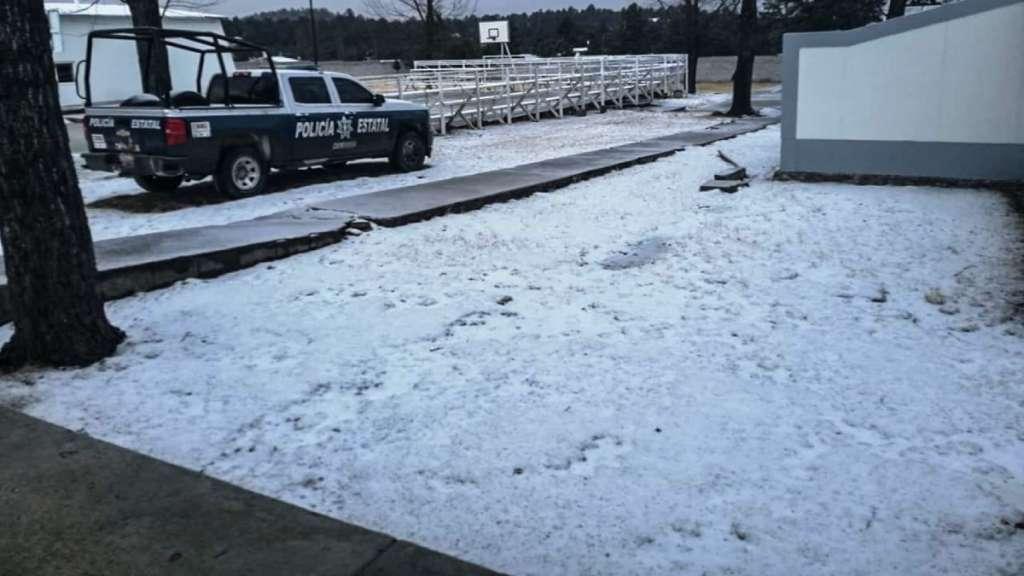 durango nieve frio autoridades protección civil temperaturas