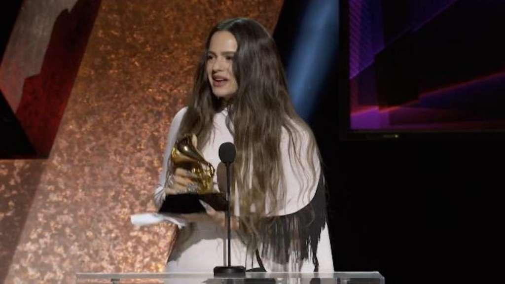 Rosalía gana su primer Grammy
