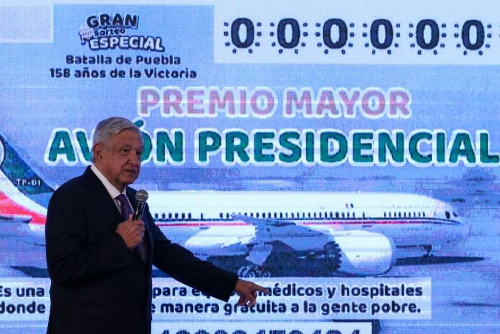 Boleto avión presidencial