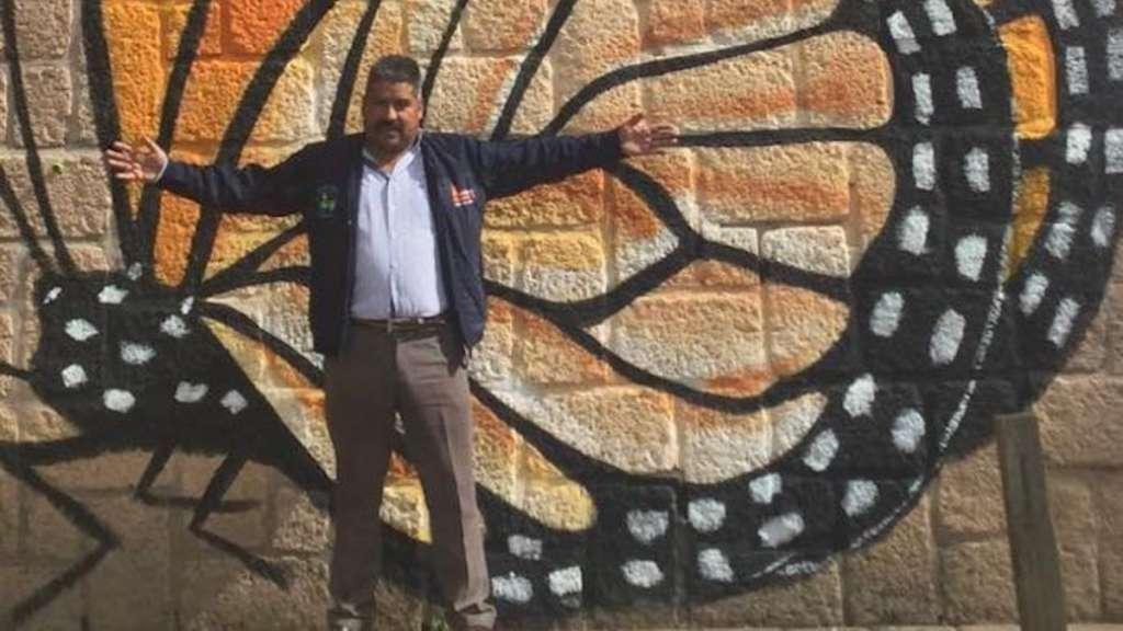 homenaje homero gomez activista mariposa monarca