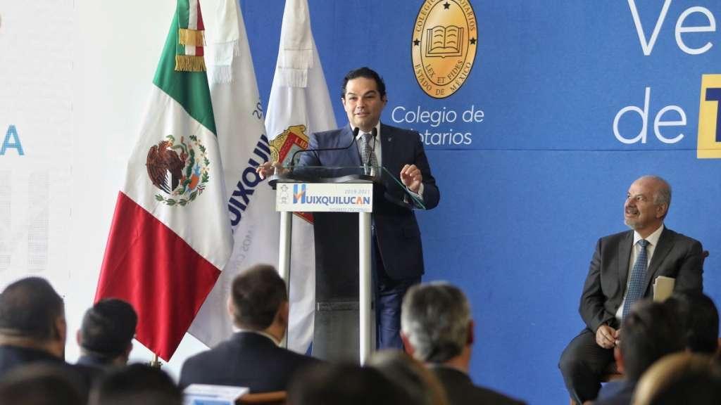 PROPUESTA. El presidente municipal de Huixquilucan, Enrique Vargas del Villar. Foto: Especial