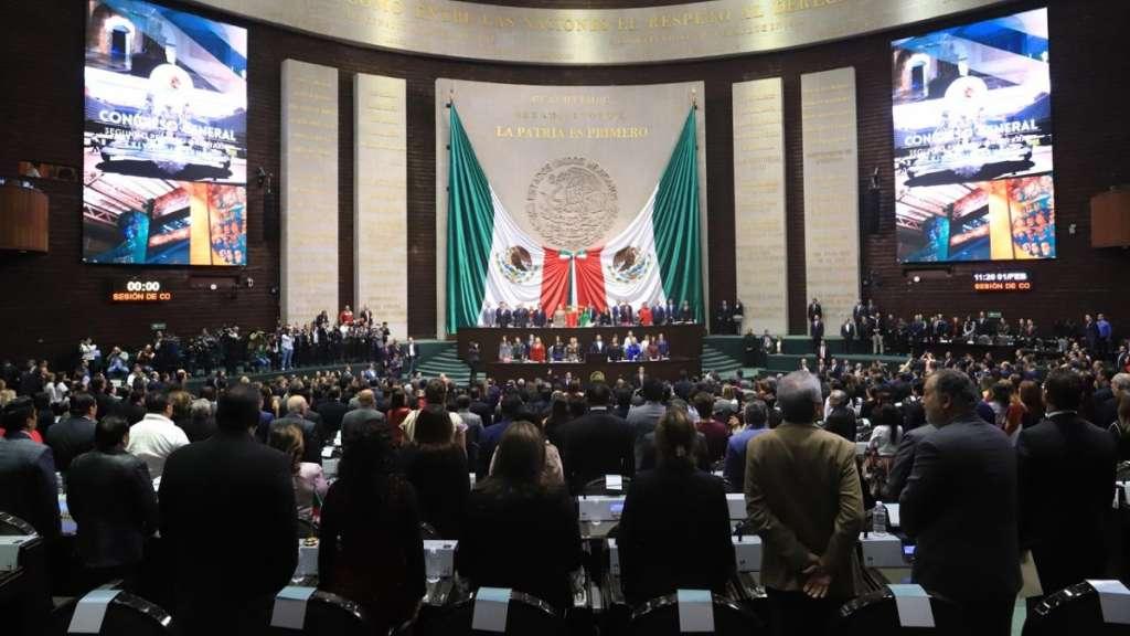 congreso de la union senadores diputados sesion plenaria