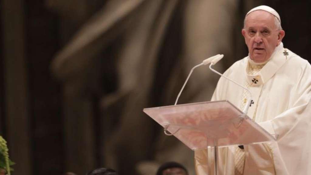 papa francisco roma vaticano misa italia