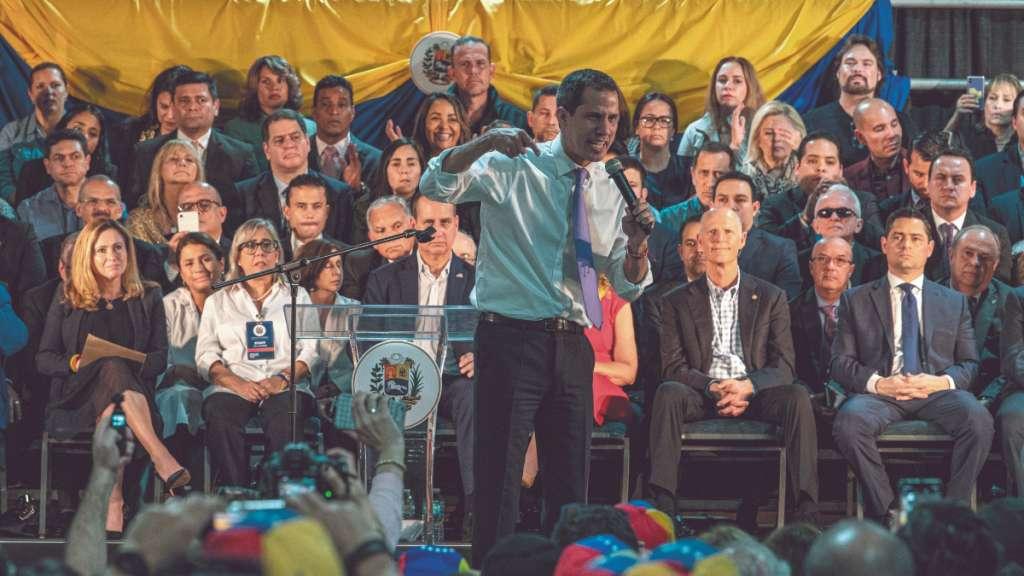 60 países reconocen a Juan Guaidó como líder venezolano. Foto: EFE