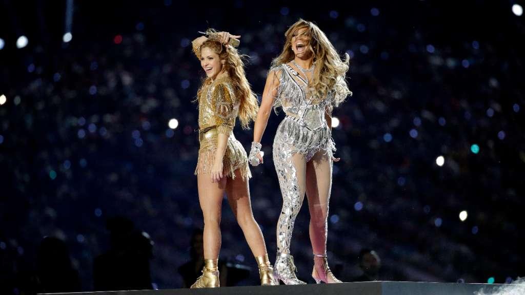 Super Bowl LIV JLo Shakira JBalvin Bad Bunny