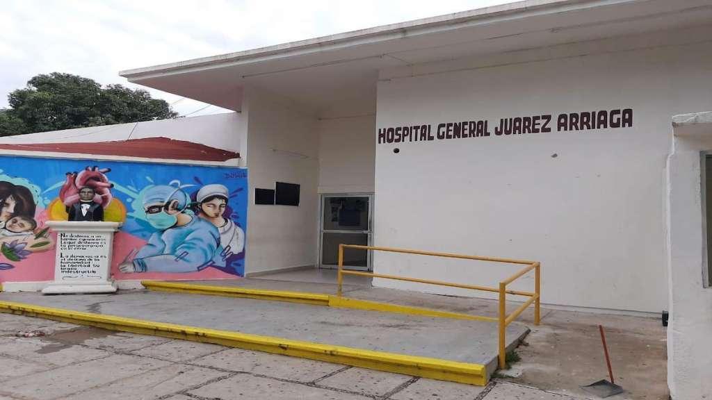 Incendio en Hospital General Arriaga, Chiapas