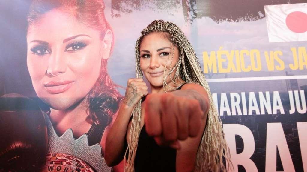 'La Barby' Juárez boxeo mujeres