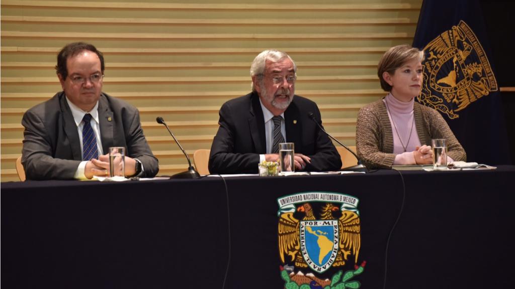 Rector de la UNAM se pronuncia contra violencia de género y vandalismo