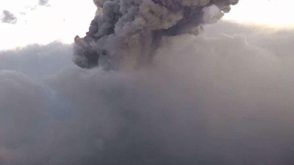 volcan popocatepetl explosion miercoles 5 febrero
