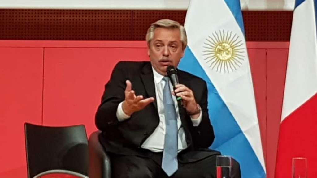 Argentina presidente Alberto Fernandez legalizacion aborto