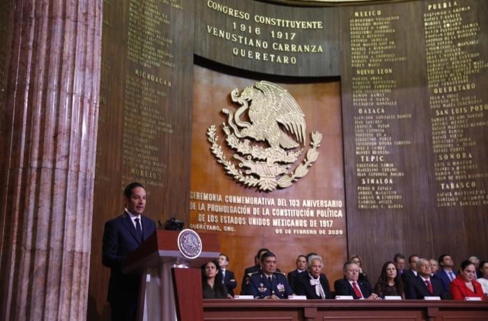 Francisco Domínguez, gobernador de Querétaro. FOTO: Especial