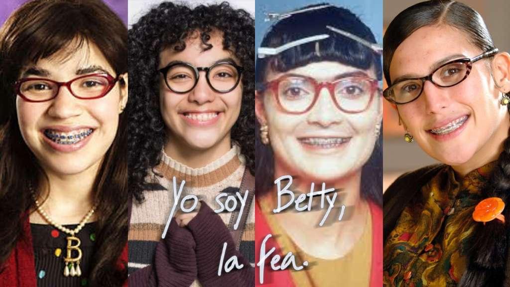 betty la fea transformaciones