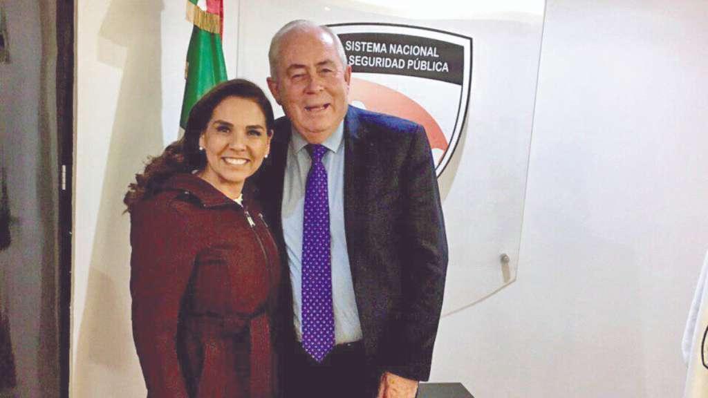 La alcaldesa de Benito Juárez, Mara Lezama, ayer en la CDMX. Foto: Especial