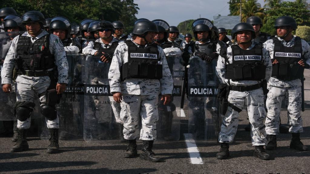 guardia nacional puebla elementos militares