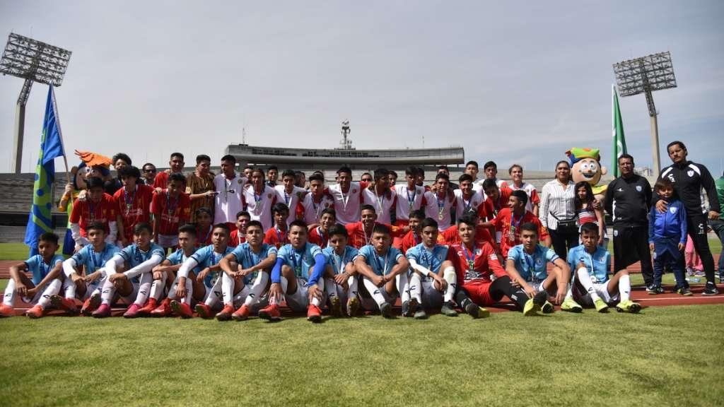 Olimpiada comunitaria futbolistas futbol cdmx