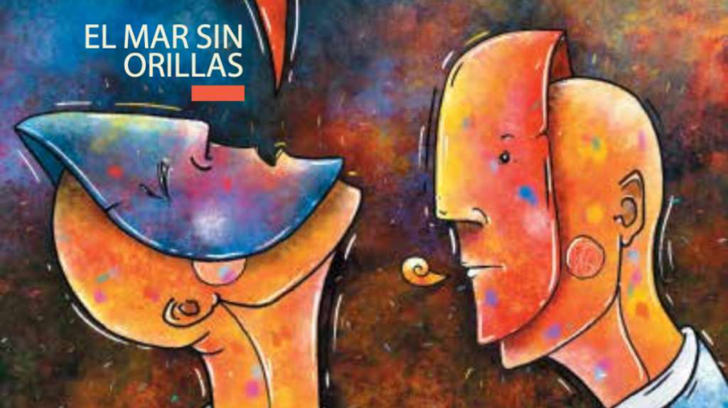 Portada Otros Diálogos del Colegio de México. Ilustración: Erick Retana