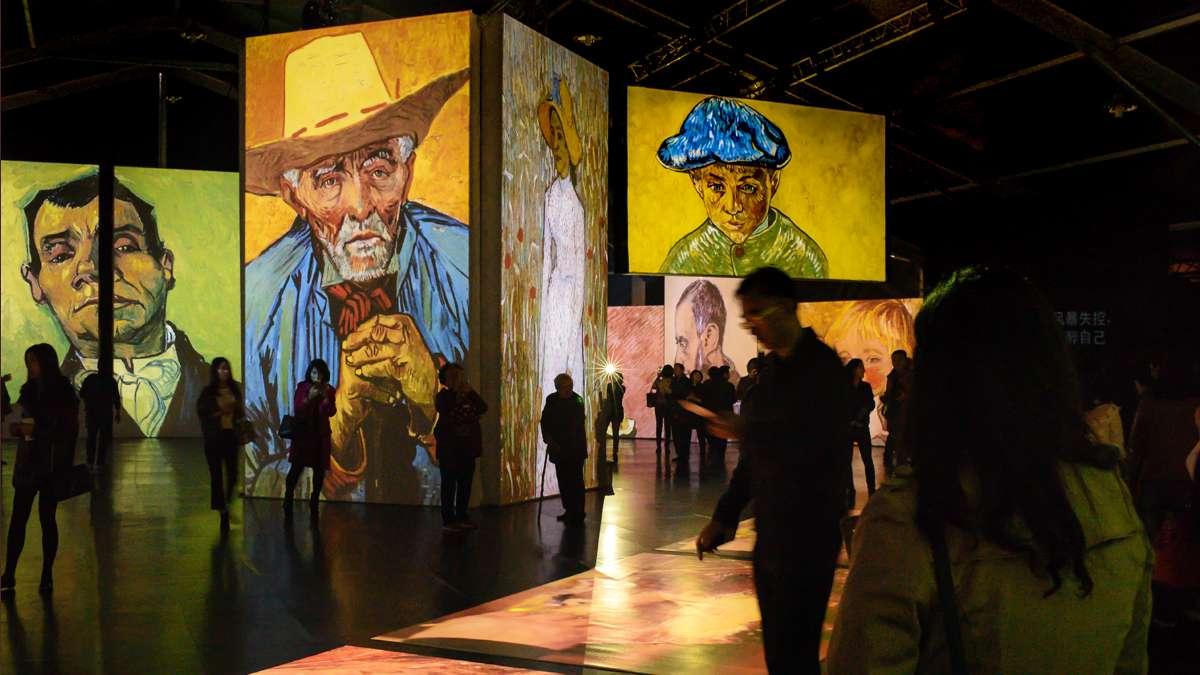 Van Gogh Alive exposicion Mexico