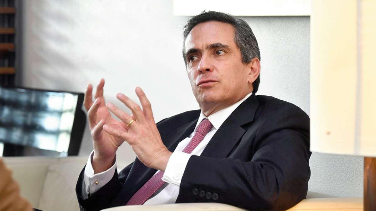 PRESIDENCIA. Ángel García-Lascurain asumió las riendas del Instituto el 1 de enero.  Foto: Pablo Salazar