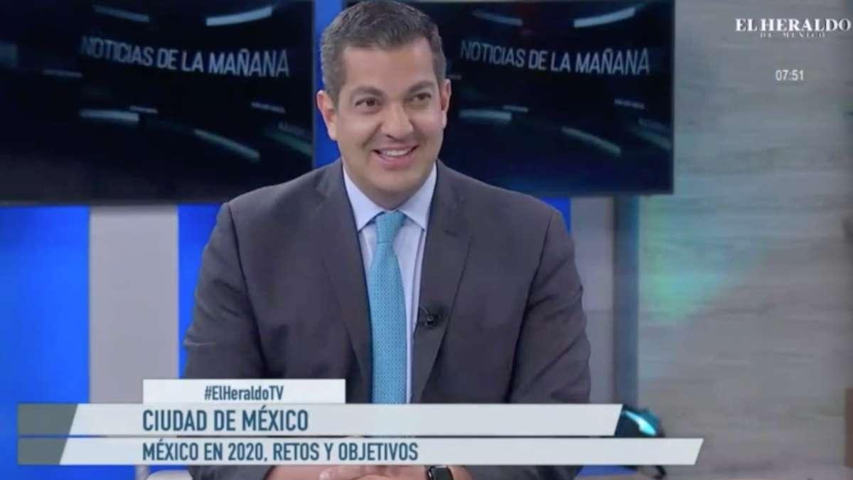 Ricardo Peralta en entrevista