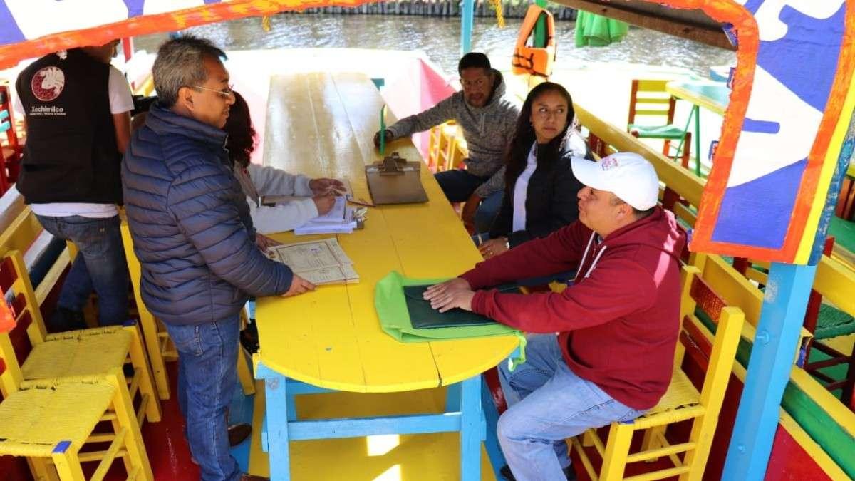 trajineras-xochimilco-revisiones-bebidas-alcohol-botellas-condiciones-alcalde-acosta-reglas-infractores