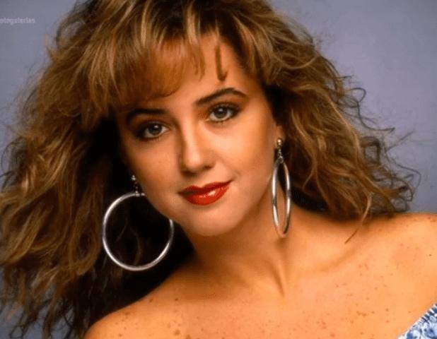 Legarreta mostrando su belleza juvenil, hace 20 años. FOTO: Especial