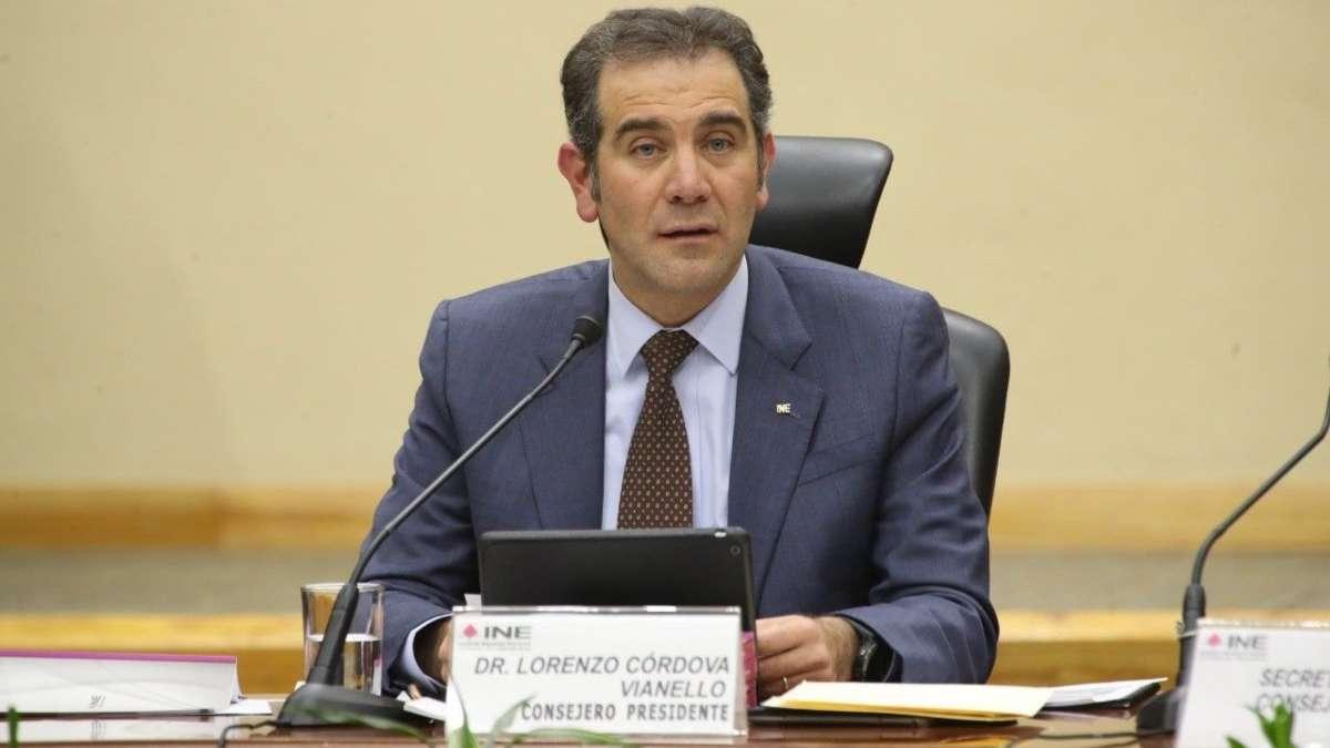Lorenzo Córdova habló en El Heraldo TV sobre la elección de los cuatro nuevos consejeros, así como de la ratificación de Edmundo Jacobo. Foto: Cuartoscuro