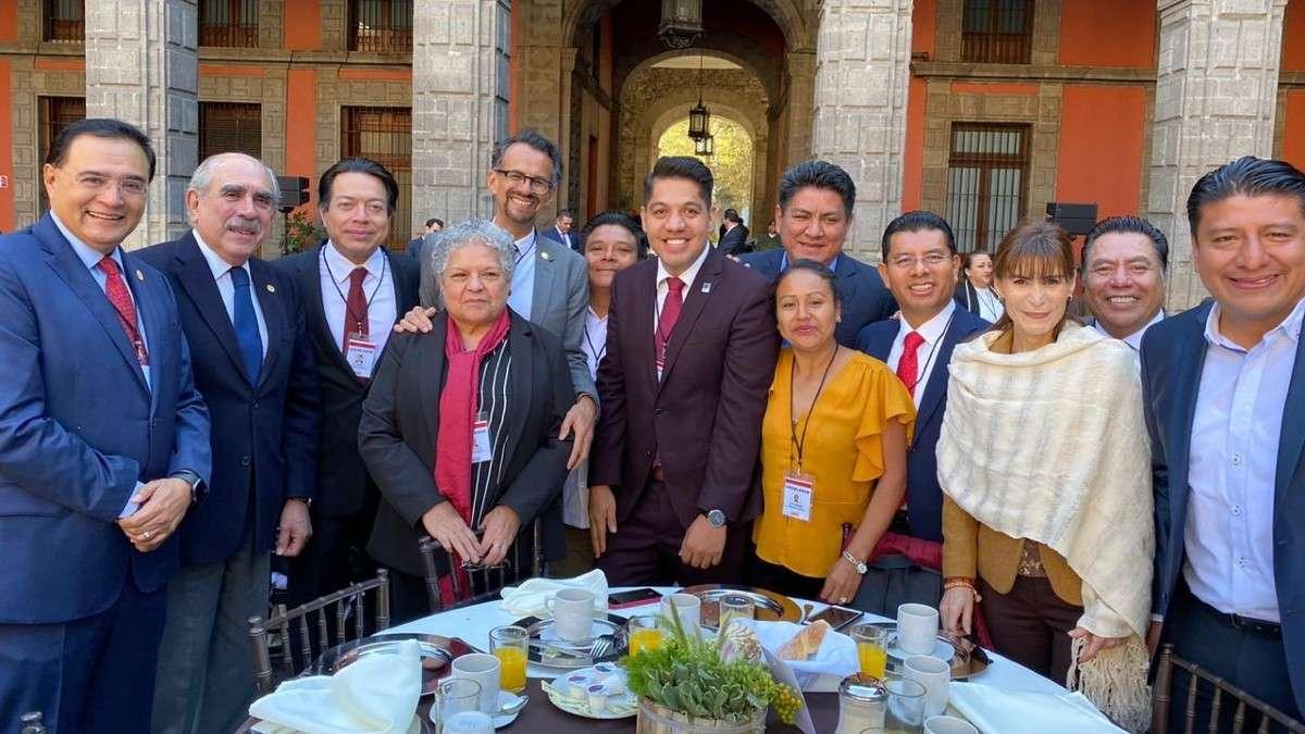 diputados-morena-legisladores-federales-palacio-nacional-reunion-presidente