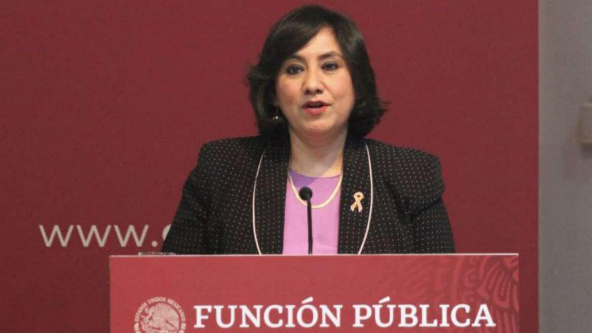 La secretaria de la Función Pública, Irma Eréndira Sandoval Ballesteros. Foto: Cuartoscuro